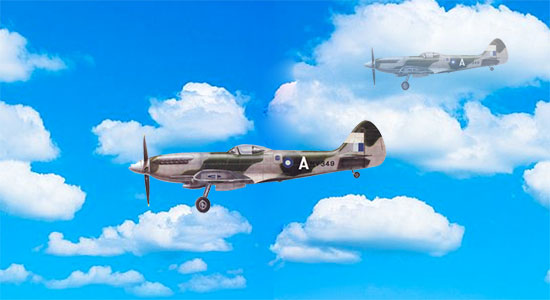 Flash CS6: Sky, Clouds and Plane Animation Tutorial